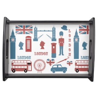 London Icons Retro Love Souvenir Tray