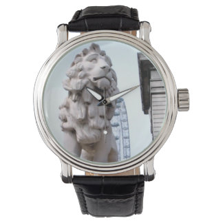 London Lion Statue Watches