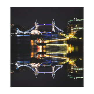 London Night Canvas Prints