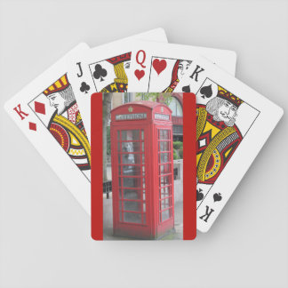 London Phone Booth Playing Cards