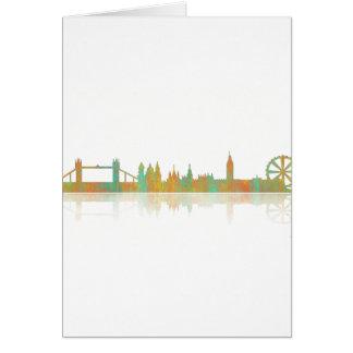 London Skyline Card