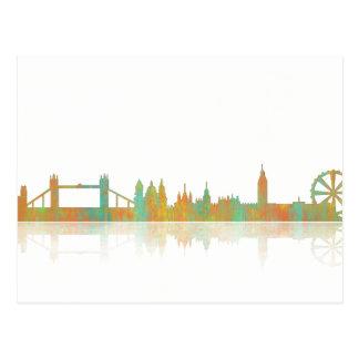 London Skyline Postcard