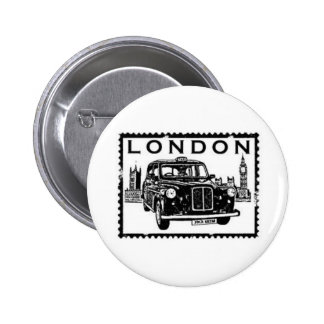 London Taxi 6 Cm Round Badge