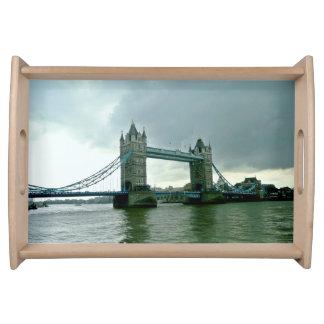 London Tower Bridge Serving Tray