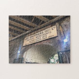 London UK England Borough Market Photo Puzzle