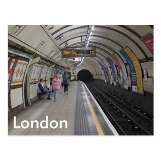 London Underground - Postcard