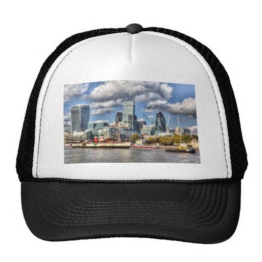 London View Trucker Hats