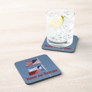 Lone Star America Cork Coaster