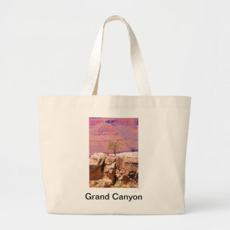 """""""Lone Tree on Canyon Ridge"""" collection Large Tote Bag"""