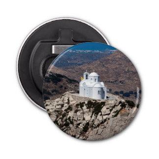 Lonely church in Greek mountains Bottle Opener