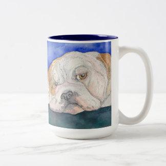 Lonely English Bulldog mug