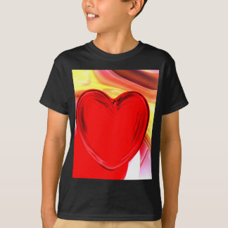 Lonely Heart Abstract T-Shirt