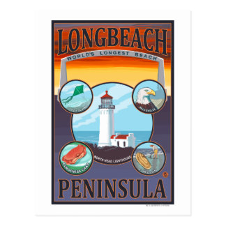 Long Beach, WashingtonTravel Postcard