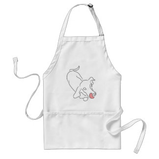 Long Dog Is Hungry Standard Apron