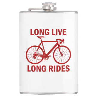 Long Live Long Rides Hip Flask