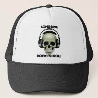 LONG LIVE ROCK-N-ROLL TRUCKER HAT