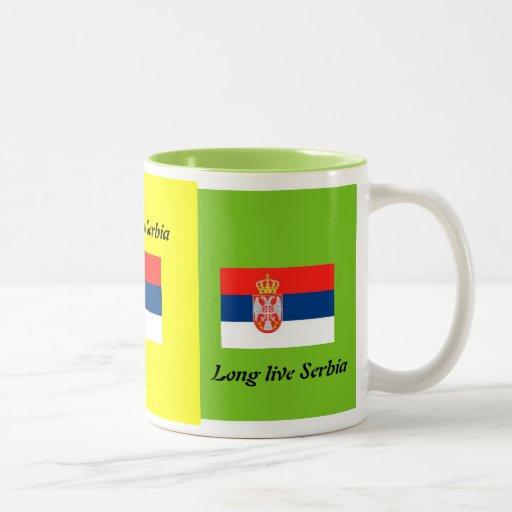 Long live Serbia Mugs