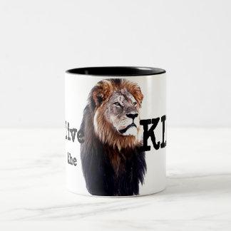 Long live the King! Two-Tone Mug