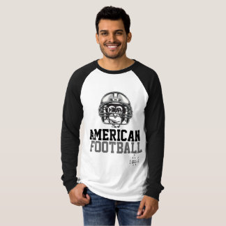 Long mango Basic Raglan - American Football T-Shirt