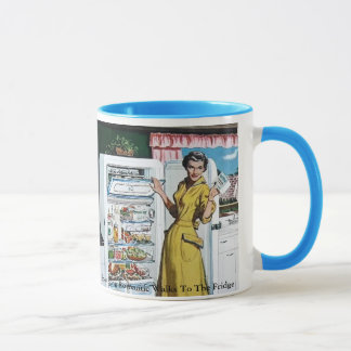 Long Romantic Walks To The Fridge - Mug