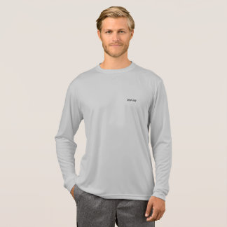 Long Sleeve Silver-Grey DEAF GUY shirt