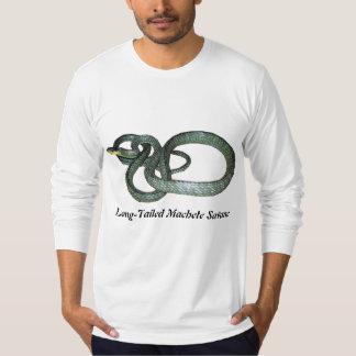 Long-Tailed Machete Savane American Apparel Long T-Shirt
