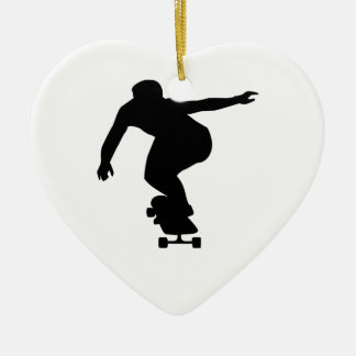 Longboard Christmas Ornament