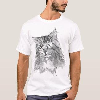 longhaired tabby T-Shirt