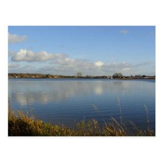 Longham Lakes, Dorset Postcard