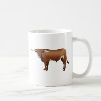 Longhorn Cattle Coffee Mug