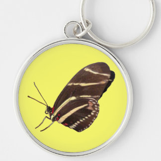 Longwing Zebra Butterfly of Florida Key Ring
