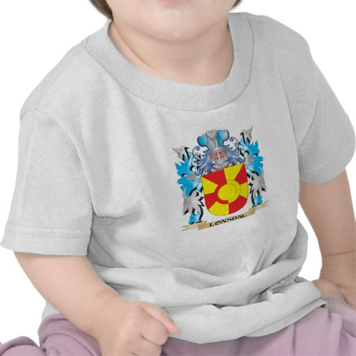 Lonsdal Coat of Arms - Family Crest Tee Shirts