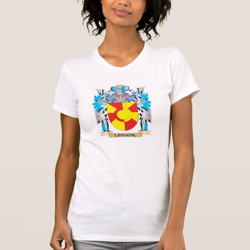 Lonsdal Coat of Arms - Family Crest Tee Shirt