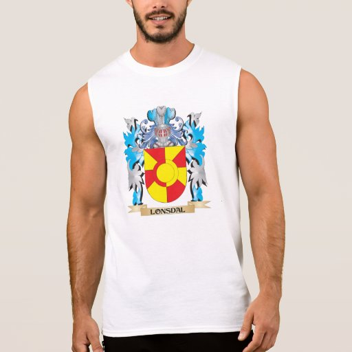 Lonsdal Coat of Arms - Family Crest Sleeveless T-shirts