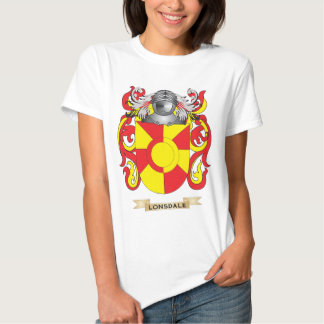 Lonsdale Coat of Arms (Family Crest) T-shirts