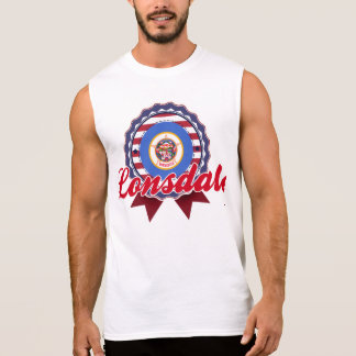 Lonsdale, MN Sleeveless T-shirt