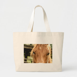 Look at that hair! large tote bag