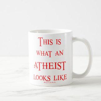 Look! Atheist! Basic White Mug