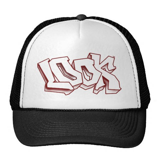 LOOK CROOKED HAT RED