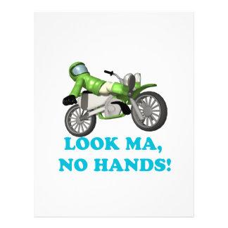 Look Ma No Hands Full Color Flyer