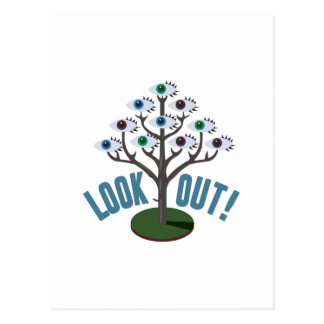 Look Out Postcard