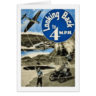 Looking Back To 4 MPH Vintage 1939 Card