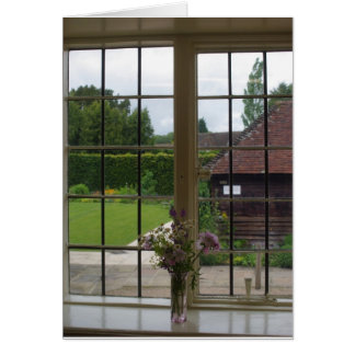 Looking Out Jane Austen's Window, Chawton Cottage Card