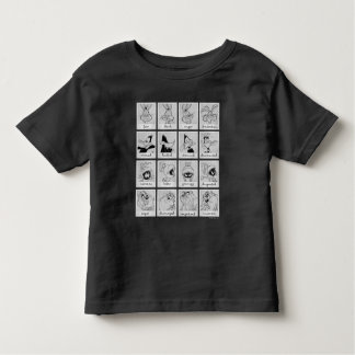 LOONEY TUNES™ Character Emotion Chart Toddler T-Shirt
