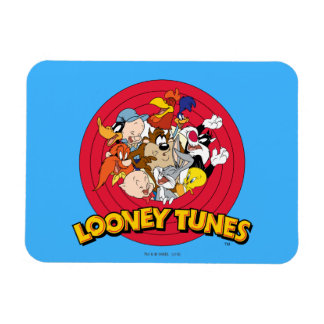 LOONEY TUNES™ Character Logo Magnet