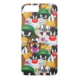 LOONEY TUNES™ Emoji Pattern iPhone 8 Plus/7 Plus Case
