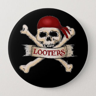 Looter Flair!! 10 Cm Round Badge
