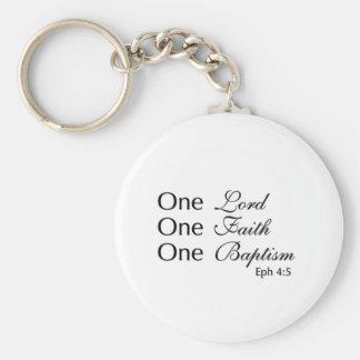 Lord Faith Baptism Key Chain