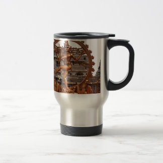 LORD SHIVA COSMIC DANCER TRAVEL MUG