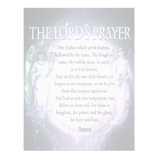 Lord's Prayer 21.5 Cm X 28 Cm Flyer